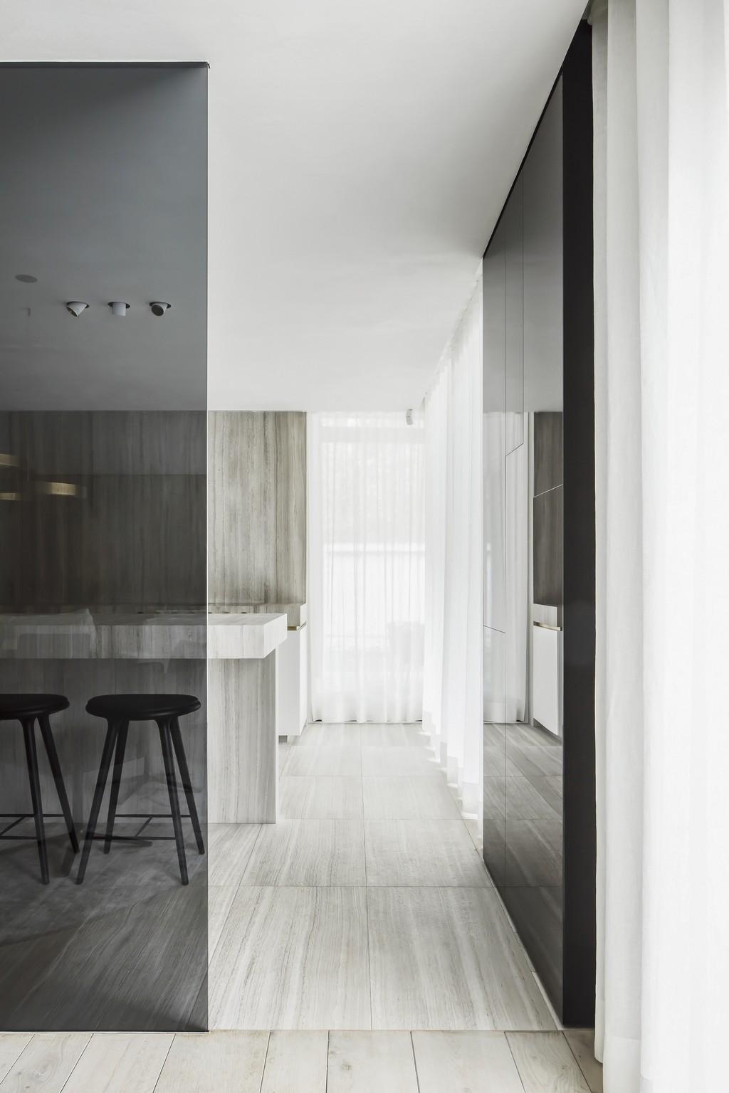 Keuken en vloer Oak Grey - Ontwerp SAAI - Foto Piet-Albert Goethals