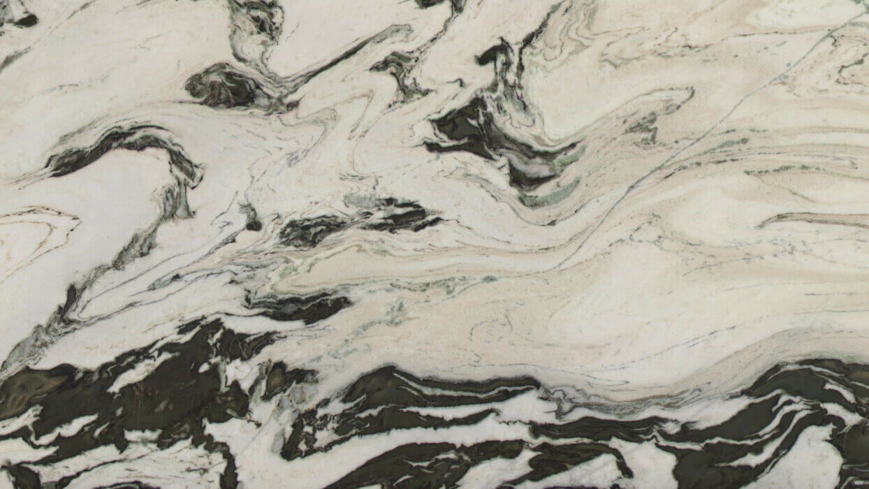 Black Curl natural stone marble marmer