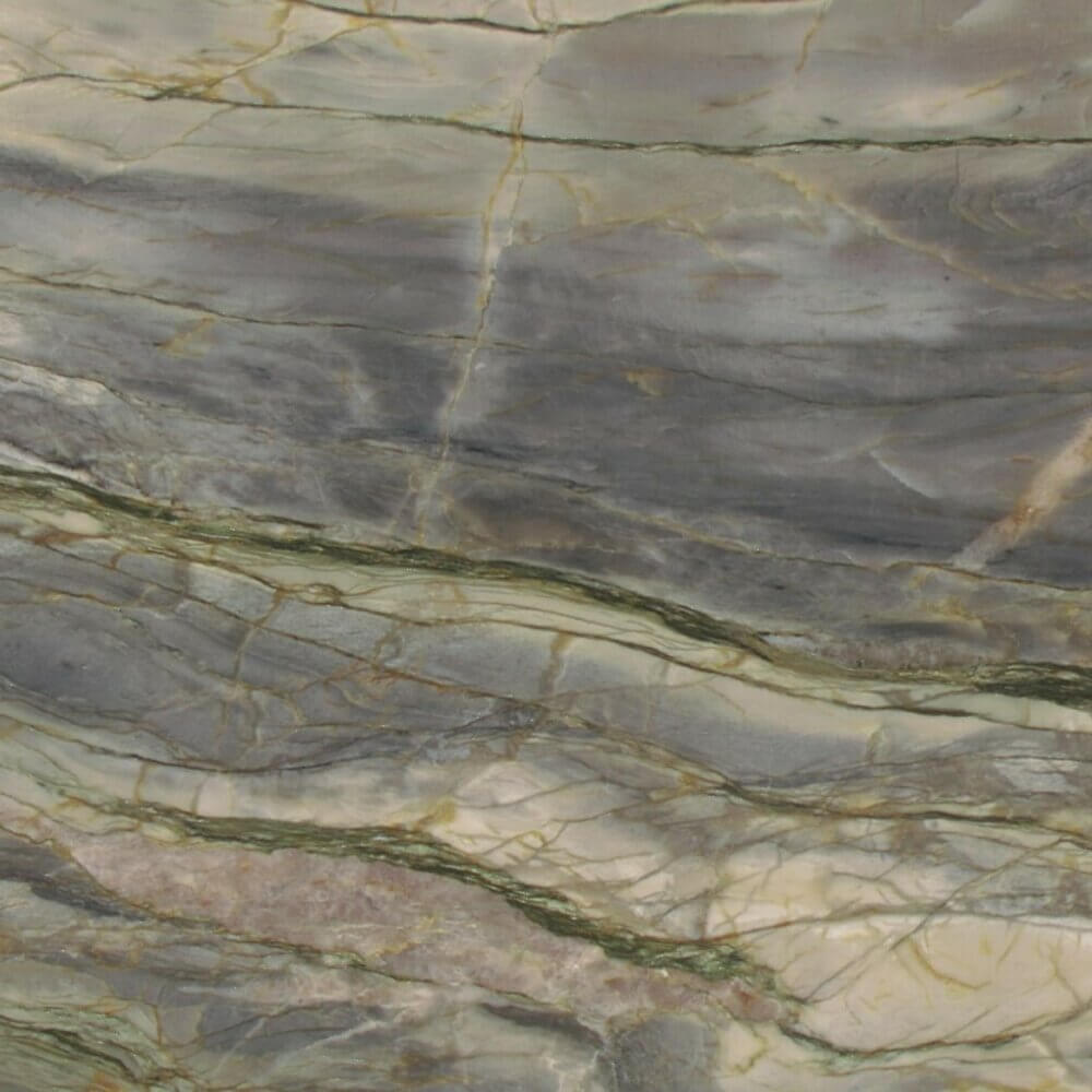 Michelangelo green grey marble